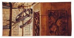 Night At The Museum, London Beach Towel
