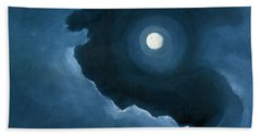 Night Light Beach Towel