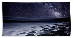 Night Shadows Beach Towel