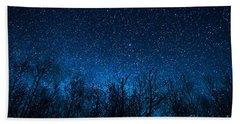 Night Stars Beach Towel