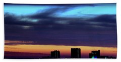 Beach Towel featuring the photograph Nightfall Over Pensacola Beach by Faith Williams
