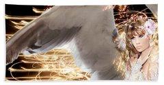 Nissrine An Angels Radiance Beach Sheet