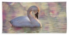 Shy Swan Beach Sheet