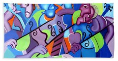 No Strings Attached Beach Towel