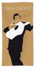 Johnny Cash Beach Towels