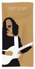No040 My Frank Zappa Minimal Music Poster Beach Towel