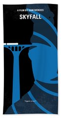 No277-007-2 My Skyfall Minimal Movie Poster Beach Towel
