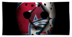 Nordiques Become Avalanche Beach Towel