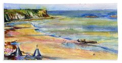 Normandy Beach Beach Towel