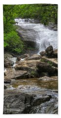 North Carolina Waterfall Beach Towel