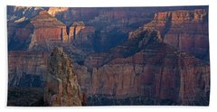 North Rim Sunset Beach Towel