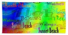 North Shore Beaches Beach Towel