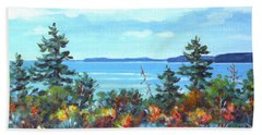 North Sky Sketch Beach Sheet