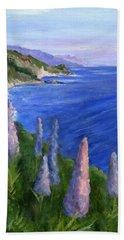Northern California Cliffs Beach Towel