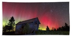 Northern Lights - Painted Sky Beach Towel