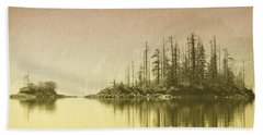 Northwest Islet Beach Towel