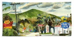 Nostalgia Arcadia Valley 1985  Beach Sheet by Kip DeVore