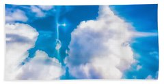 Not Just Another Cloudy Day Beach Towel