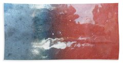 Beach Towel featuring the photograph Not Making Violet by Brian Boyle