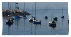 Beach Towel featuring the photograph Sail Boats  by Eunice Miller