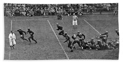 Notre Dame Versus Army Game Beach Towel by Underwood Archives