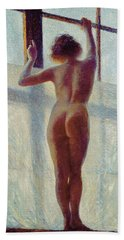 Nude At The Window, 1905 Beach Towel