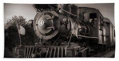 Number 4 Narrow Gauge Railroad Beach Towel