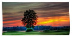 Number 4 The Landing Reynolds Plantation Art Beach Towel