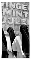 Nun Of That Beach Sheet by Kathleen K Parker