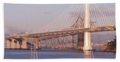 Oakland Bridge Beach Towel