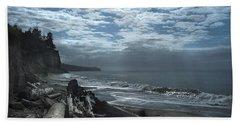 Ocean Beach Pacific Northwest Beach Towel