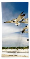 Ocean Birds Beach Towel