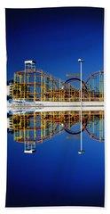 Ocean City Amusement Pier Reflections Beach Sheet