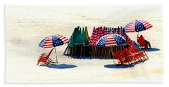 Ocean City Nj Stars And Stripes Beach Towel