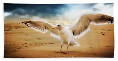 Aaron Berg Photography Beach Towel featuring the photograph Ocean Landing by Aaron Berg
