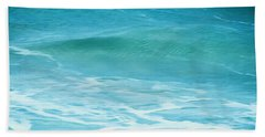 Ocean Lullaby Beach Towel by Roselynne Broussard