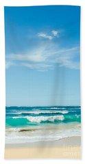 Beach Towel featuring the photograph Ocean Of Joy by Sharon Mau