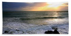 Ocean Sunset 84 Beach Towel