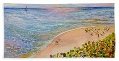 Seaside Grapes Beach Towel