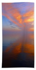 Ocracoke Nc Sunrise Beach Towel