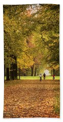 October Beach Towel