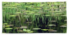 Beach Towel featuring the photograph Ode To Monet by Chris Anderson