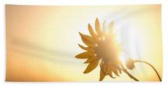 Of Sun And Flowers Beach Towel