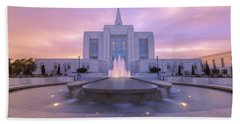 Ogden Temple I Beach Towel