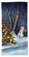 Oh My. A Christmas Tree Beach Towel
