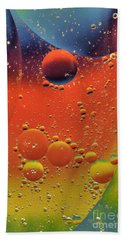 Oil And Water Beach Towel