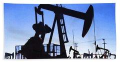 Oil Fields Beach Sheet