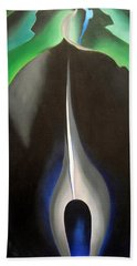 O'keeffe's Jack In The Pulpit No. V Beach Towel