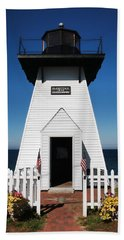Olcott Ny Lighthouse - Replica Beach Sheet