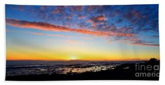 Beach Towel featuring the photograph Old A's Panorama by David Lawson